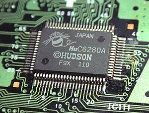 HuC6280 - Fonte: Wikipedia